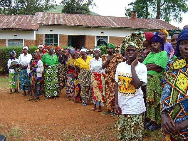 Rape victims in Dem. Rep. Congo